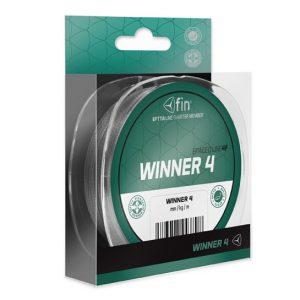 FIN Winner4 szürke fonott zsinór