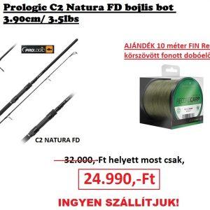prologic c2 natura fd 3.90 ajándék