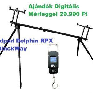 Delphin Rpx 4 rod pod+ajándék